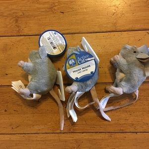 NWT 3-Pack stuffed catnip mouse toy